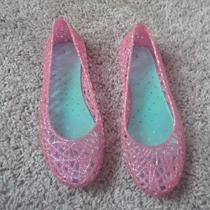 Other - Glitter Jelly flats